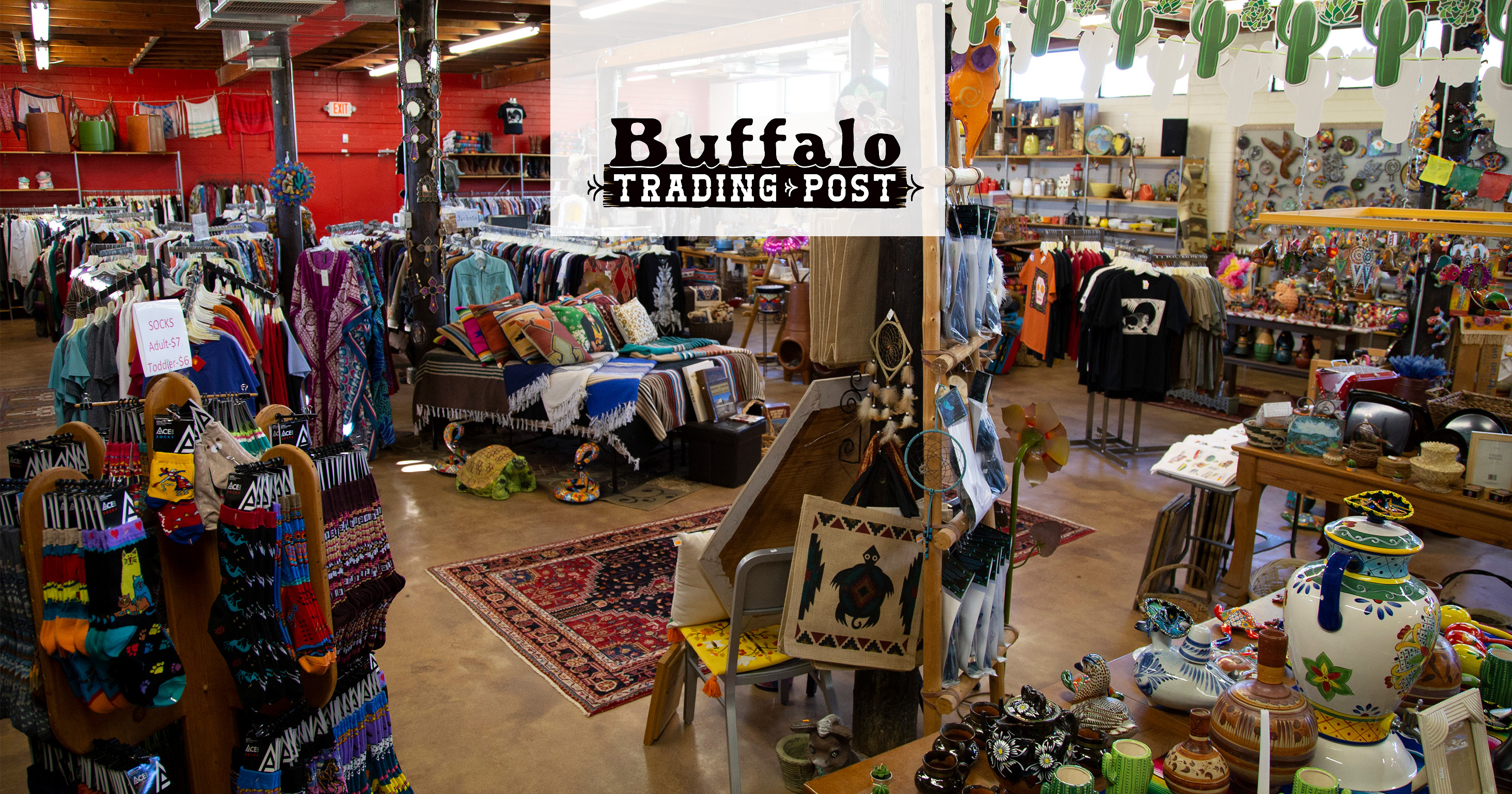 Buffalo Trading Post Slider
