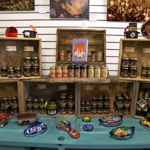 Homemade Jam & Hot Sauce at Tintype Mercantile at Cat Mountain Station