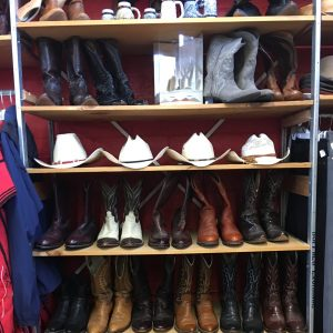 Western Boots & Hats At Buffalo Trading Post