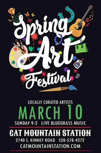 Spring Art Festival at Cat Mountain Station 2019