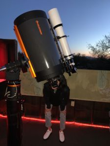 Victor Sunstar gives a star tour of Tucson's night skies
